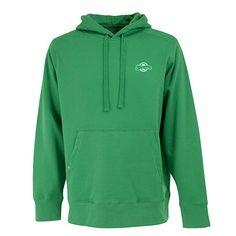 Milwaukee Brewers Kelly Green Signature Hooded Sweatshirt