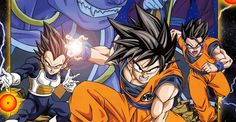 Dragon Ball Super Vegeta, Goku, and Gohan