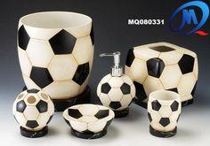 Soccer bath accessory