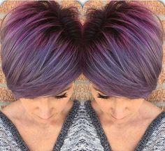Pastel Purple Pixie Cut Colors