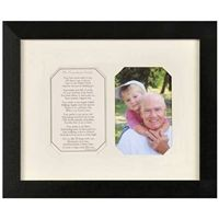 Grandpa Picture Frame with Poem -