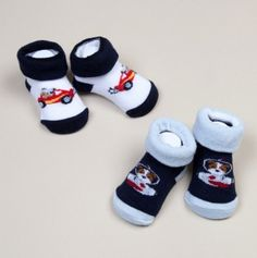 Two Pack Boys Infant Booties