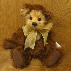 Annette Funicello Miss Kitty Mohair Bear Limited Edition 5000 Dolls & Bears Annette Funicello