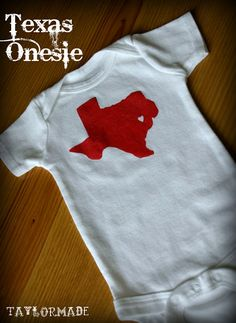 It's Rodeo Y'all - Texas Onesie - Taylor Made