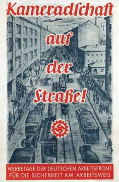 "German  WW2  ""Camaraderie on the street!"""