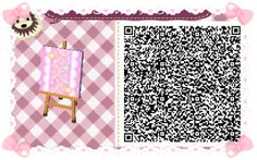 Animal Crossing: New Leaf & HHD QR Code Paths  Star crossed Pastel  Stairs #6 To go with star crossed path<--