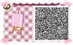 Animal Crossing: New Leaf & HHD QR Code Paths #6 star crossed Boarder