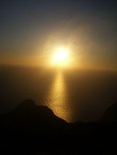Island of Capraia, Sunset