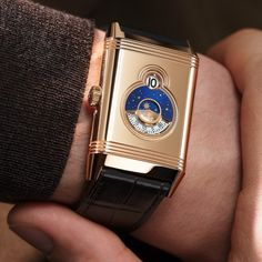 *Blog Update - Read iN!* #JaegerLeCoultre 29.9mm Reverso Tribute Nonantième⌚️✨ A Digital Display Inspired by the 1930's * xxx/190 Limited Edition…🎉