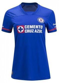 women cruz azul fc 2017 18 season home jersey