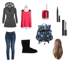 """""""Cold day"""" by blazegirl76 ❤ liked on Polyvore featuring beauty, BB Dakota, WearAll, UGG Australia, Essie, Marc Jacobs, Chanel and plus size clothing"""
