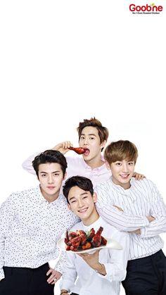 Sehun, Suho, Chen e Chanyeol EXO