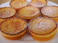 Portuguese Yogurt Tarts Recipe - Portuguese Recipes - Food Recipes from Portugal Donut Recipes, Tart Recipes, Cupcake Recipes, Sweet Recipes, Dessert Recipes, Cooking Recipes, Portuguese Desserts, Portuguese Recipes, Mini Desserts