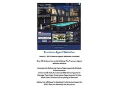 Agent Websites:  With three different levels available brokers are able to offer their agents websites within the company website leveraging all the same advanced technology, features set and data.