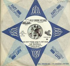 THE DELFONICS You Got Yours  I'll Get Mine NORTHERN SOUL R&B WLP PROMO DJ 45 RPM