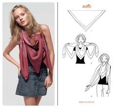 How to Knot a Hermès Scarf in 21 Different Ways