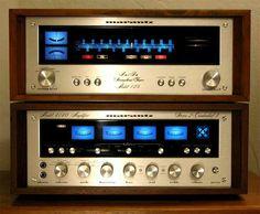 Vintage audio Marantz 4140 & 125 Hi Fi Stereo Equipment For Sale, Audio Equipment, Speaker Amplifier, Speakers, Hifi Audio, Hifi Stereo, Audio Sound, Tape Recorder, Ham Radio