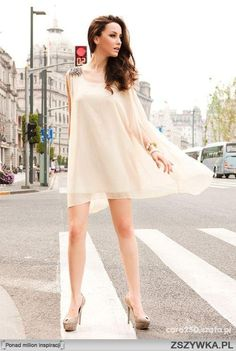 Zwiewna sukienka - idealna na lato :)