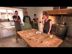 Alys and Paul: making a willow hurdle, with Alys Fowler - YouTube