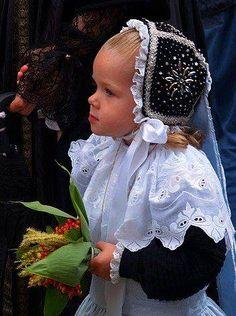 Bonnet breton avec Broderie