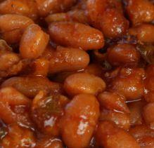 Alton Brown's baked bean recipe
