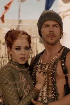 Witness Derek Hough and Lindsey Stirling's Mad Max-Style Dance-Off in This Epic Video
