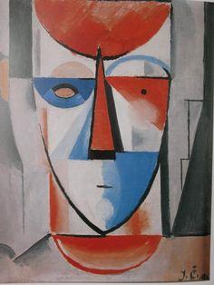1913 Cubist painting by Josef Capek  Cubist Museum Prague