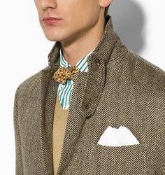 Men's herringbone suit -Gorgeous.  Detail.