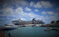 Celebrity cruises to the Dockyard #bermuda #bermy #gotobermuda #wearebermuda #ahhbermuda #dockyard #celebritycruises #celebrity #travel by docsirishpub