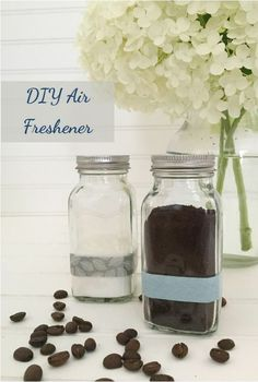 Lavender Essential Oil Baking Soda DIY Air Freshener from