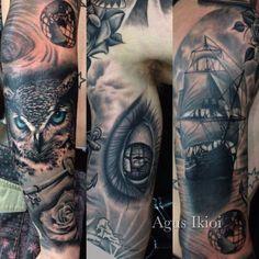 Owl#key#roses#eyes#ship