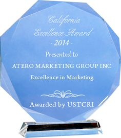 Atero Marketing Group Wins 2014 California Excellence In Marketing Award