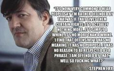 Don't care if you're offended. At all.