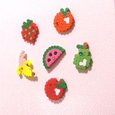 Fruits hama perler beads