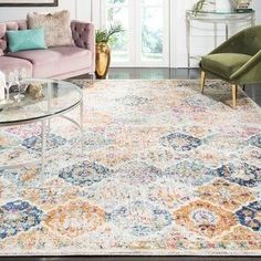 #CarpetTypes Online Shopping, Online Home Decor Stores, Rug Size Guide, Floral Area Rugs, Transitional Rugs, Oriental Pattern, Rug Sale, Cool Rugs, Vintage Bohemian