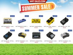 Special Summer Sale of AMT Electronics!  Check our European E-store!