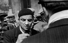 Paris, France. A man with a cigar. By Robert Capa, ( May-June 1936)