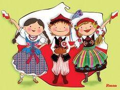 """MY LIFE, MY PASSION, MY CHOICE..."": Polska - Moja Ojczyzna Learn Polish, Zumba Kids, Poland History, Polish Language, Polish Folk Art, Puzzle Games For Kids, Folk Clothing, National Symbols, Folk Dance"