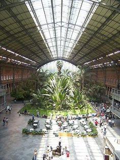 Estación de Atocha - Madri