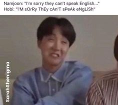 Hoseok we need to talkeu right now, important busineseu