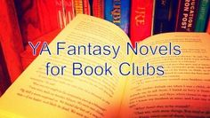 Fantasy titles for YA book clubs