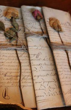 Vintage Love Letters.