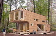 Como transformar containers de 6800 reais em casas!                                                                                                                                                      Mais