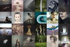 2013: A YEAR IN PHOTOS by Brooke Shaden featuring my artwork! <3