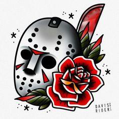 Tattoo traditional american body art Ideas for 2019 Tattoo Flash Art, Tatoo Art, Body Art Tattoos, Tattoo Drawings, Sleeve Tattoos, Tatoos, Traditional Tattoo Halloween, Traditional Tattoo Design, Dibujos Tattoo