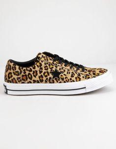 64c1ebb21ac2 CONVERSE One Star OX Leopard Shoes Converse One Star Shoes, Leopard Shoes,  Ox,