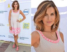 Camilla Belle In Shoshanna  - 5th Annual LA Loves Alex's Lemonade Annual Fundraiser