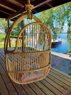 Parolan rottinki Hanging Chair, Cottage, Furniture, Home Decor, Decoration Home, Hanging Chair Stand, Room Decor, Cottages, Home Furnishings