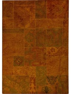 Sarangi - Orange is a hand tufted, hand-stitched rug that is made of 100% wool. This rug embodies the concept of recycling. It is not made of new yarn, but  made using the left over yarn from other rugs that has been re-dyed/over-dyed. Made in India.