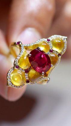 Bohemian Jewelry, Earthy, Diamond Jewelry, Jewelery, Brooch, Bright, My Style, Board, Rings